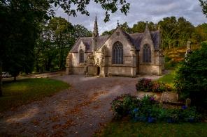 """chapelle de """"ti man doué"""" à Quimper"""